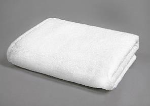 Рушник махровий 70х140 білий 500 г/м2 Уцінка, фото 2