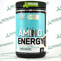 Аминокислоты ON Optimum Nutrition Essential Amino Energy 30 порций 270 г Blueberry Mojito Черничный Мохито