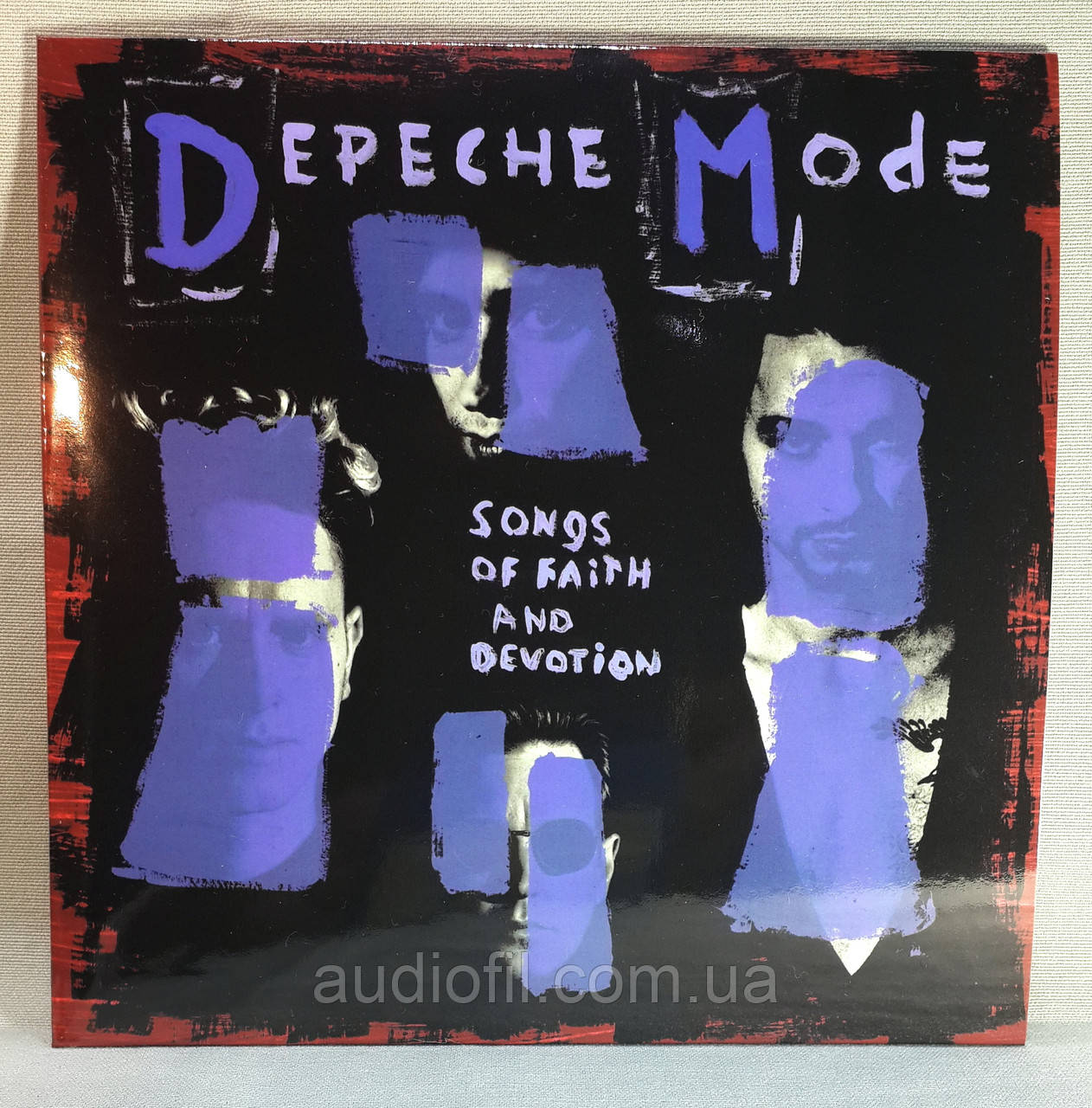 CD диск Depeche Mode - Songs of Faith and Devotion, фото 1