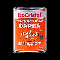 Краска полиуретановая для пола Hard Paint ИР-266 ПУ (красно-коричневая) 0,75 л