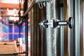 Держатель фонаря к трубе - Scangrip Scaffolding bracket for Nova/Vega (03.5341), фото 3