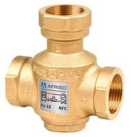 """Клапан Afriso ATV335 T=55°C, DN 25, Rp 1"""", Kvs 9 трехходовой термический антиконденсационный Афризо 1633500"""