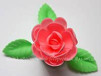 Вафельные цветы «Розы большие сложные розовые» 28 шт