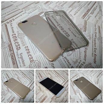 Ультратонкий 0,3 мм чехол для Xiaomi (Ксиоми) Mi A1 / 5X прозрачный, серый