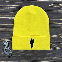 Желтая шапка Билли Айлиш