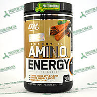 Аминокислоты ON Optimum Nutrition Essential Amino Energy 30 порций 270 г Iced Tea Latte Холодный Чай Латте