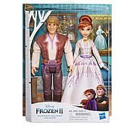 Набор кукол Кристофф и Анна Холодное Сердце Disney Frozen Anna and Kristoff Fashion, Hasbro E5502