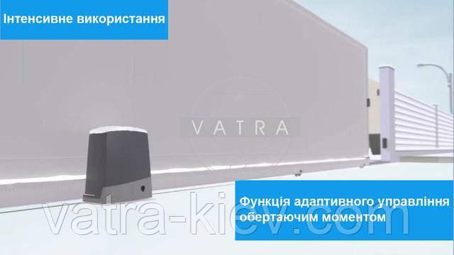 Автоматика для откатных тяжёлых промышленных ворот CAME BKV15AGE