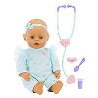 Интерактивная Кукла пупс Беби Борн Вылечи меня Мама Baby Born Mommy Make Me Better Doll Green Eyes