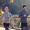 Теплая спортивная повязка на голову Vegard из флиса розовая - Фото