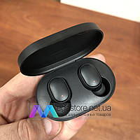 Беспроводные bluetooth наушники Xiaomi Redmi AirDots BT5.0 с кейсом для зарядки сяоми редми аирдотс черные