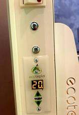 Керамический обогреватель Ecoteplo 600 Вт лофт с электронным терморегулятором, фото 3