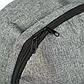 Мужской Рюкзак Городской Повседневный Тканевый Серый (364), фото 7
