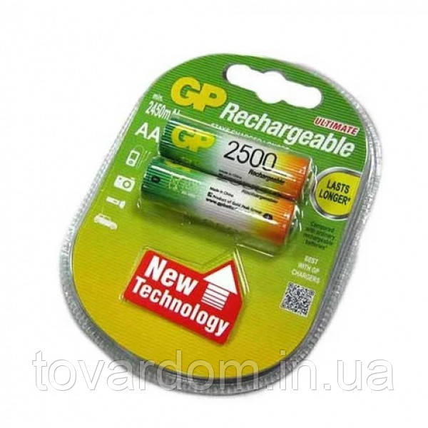 Аккумулятор GP AA 2500mAh