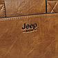 """Мужской Портфель Сумка для Ноутбука 15"""" и Документов А4 Jeep Buluo (JB8862-3) Коричневый, фото 6"""