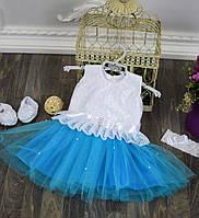 Нарядное платье на девочку, фото 1