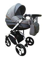 Детская универсальная коляска 2 в 1 Ajax Group Alpina 05 (серый)