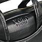 """Мужской Портфель Сумка для Ноутбука 15"""" и Документов А4 Polo Vicuna (V6607-4) Деловой Черный, фото 7"""