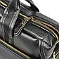 """Мужской Портфель Сумка для Ноутбука 15"""" и Документов А4 Polo Vicuna (V6607-4) Деловой Черный, фото 8"""