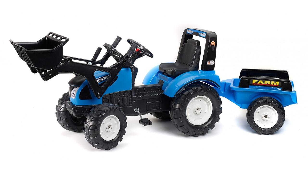 Педальный трактор для детей от 3 лет,Falk 3010AM. Машинка для детей