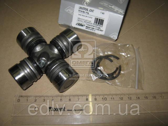 Крестовина вала карданного ГАЗ 3302,МТЗ,2410 со стопор. кольцом (RIDER) 3102-2201025
