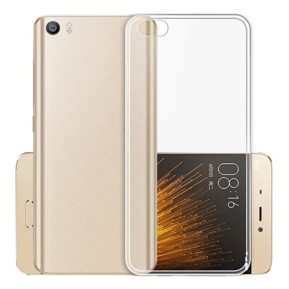 Ультратонкий 0,3 мм чехол для Xiaomi (Ксиоми) Mi5S (прозрачный)