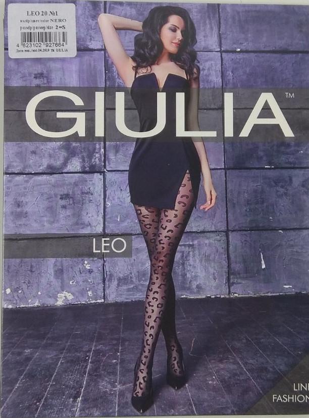 """Колготки женские ТМ """"GIULIA"""" Leo №1 20 Den (от 3 шт)"""