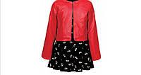 Комплект платье+куртка для девочек 110/160 см, фото 1