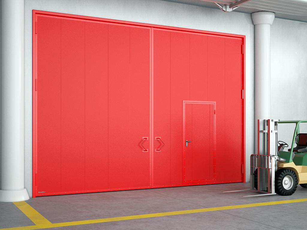 Противопожарные распашные ворота EI90 и EI120