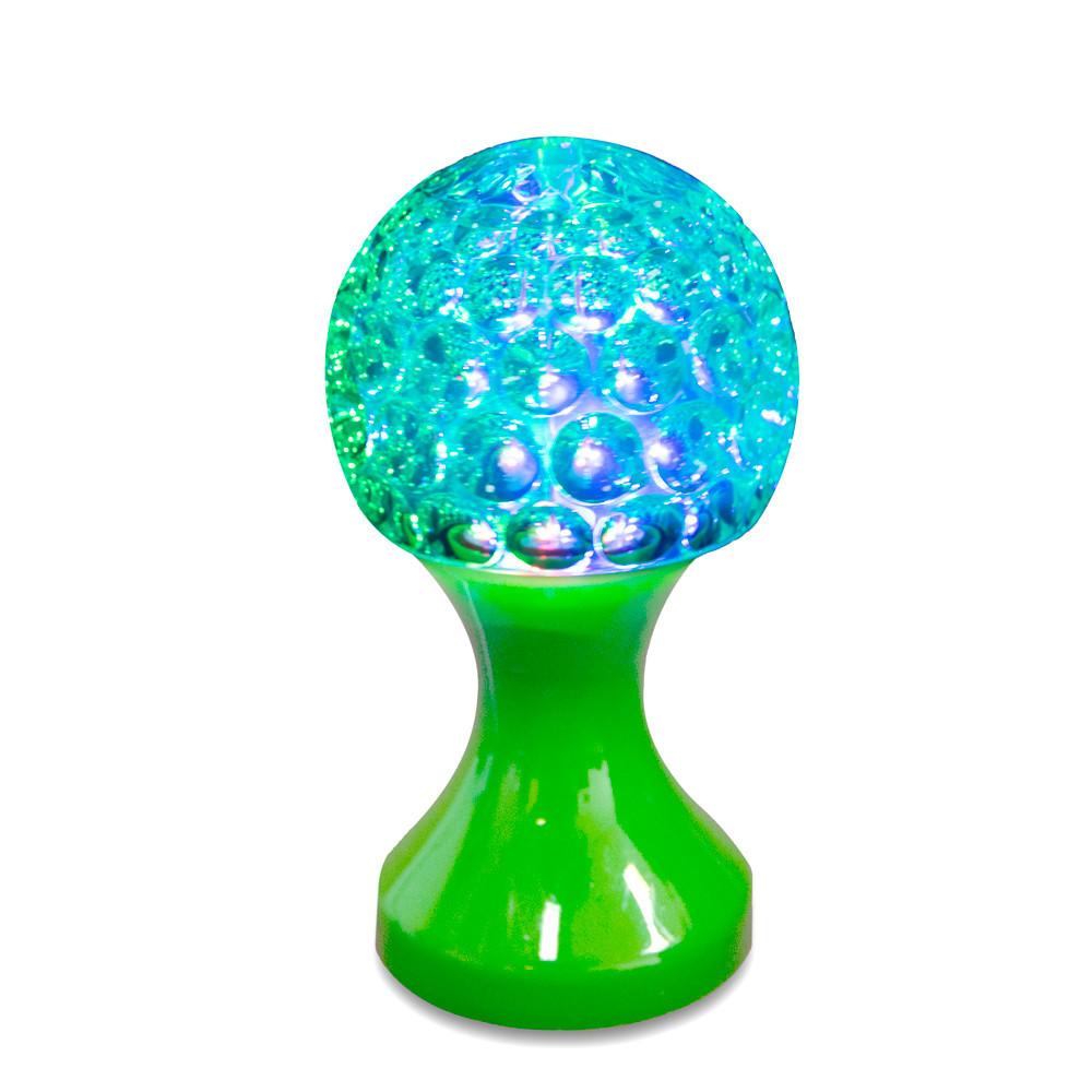 Диско лампа настольная, RHD-48, Зеленый, ночной светодиодный светильник, вращающийся 3d ночник