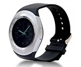 Смарт-часы UWatch Y1 Black + Silver (STD01357)