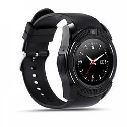 Смарт-часы UWatch SmartWatch SW V8 Black (STD01371)