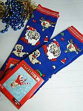 Новорічні жіночі ароматизовані шкарпетки махра MONTEBELLO