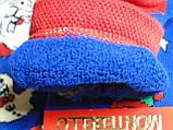 Новорічні жіночі ароматизовані шкарпетки махра MONTEBELLO, фото 4