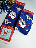 Новорічні жіночі ароматизовані шкарпетки махра MONTEBELLO, фото 7
