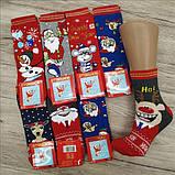 Новорічні жіночі ароматизовані шкарпетки махра MONTEBELLO, фото 8