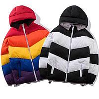 Командные, выездные  зимние/деми  цветные куртки , цвета на выбор, от детей до взрослых размеров, фото 1