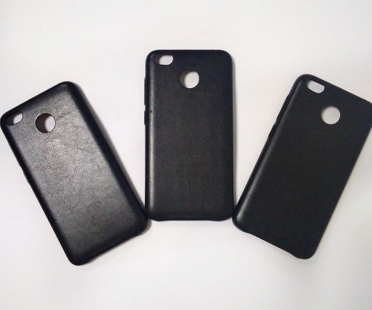 Чехол под кожу Slim на Xiaomi (черный)