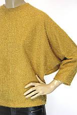 Жіноча кофта травка гірчичного кольору, фото 2