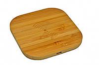 Беспроводная зарядка WoodbooD Wireless Charge Mini Wood Plus