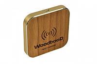 Беспроводная зарядка WoodbooD Wireless Charge Standart  Gold Plus