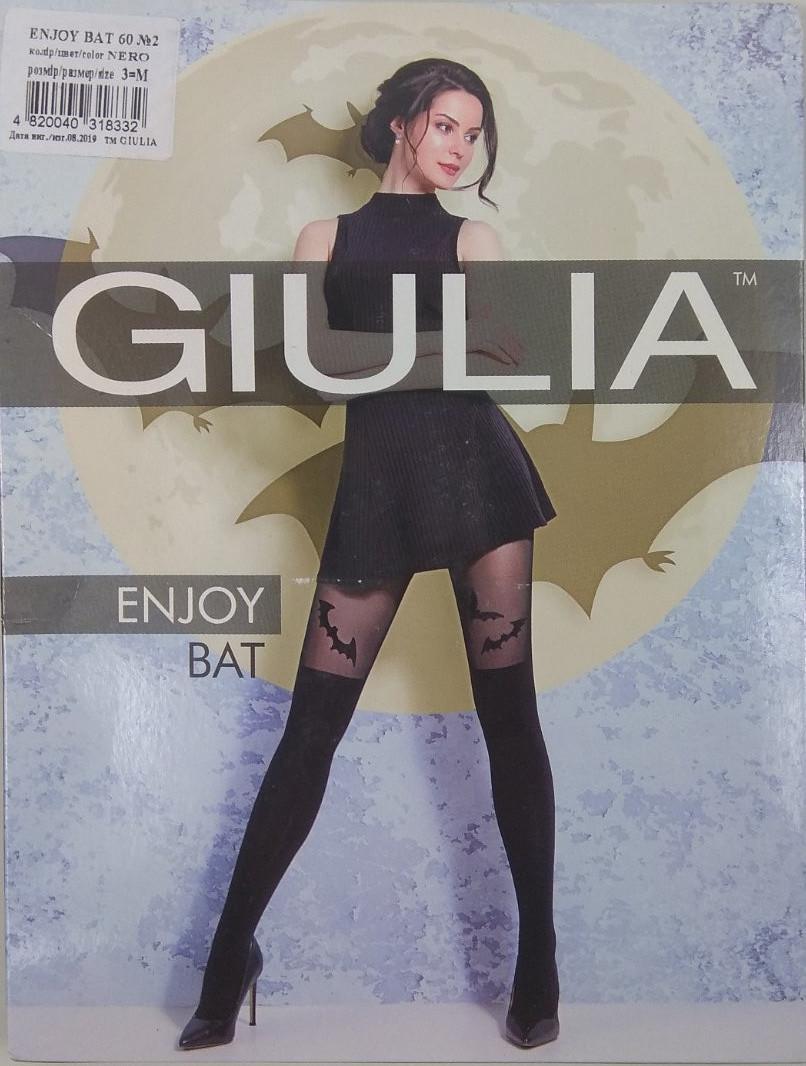 """Колготки женские ТМ """"GIULIA"""" Enjoy Bat №2 60 Den (от 3 шт)"""