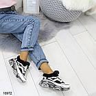 Женские зимние кроссовки в белом цвете, эко кожа 36 39 ПОСЛЕДНИЕ РАЗМЕРЫ, фото 5