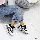 Женские зимние кроссовки в белом цвете, эко кожа 36 39 ПОСЛЕДНИЕ РАЗМЕРЫ, фото 6