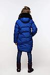Детский зимний пуховик Шелли с помпонами, фото 3
