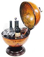 Глобус бар настольный коричневый 36002 R 360мм