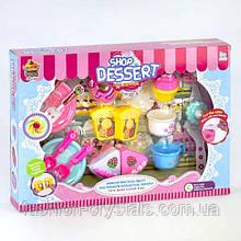 Игровой набор сладостей с посудой