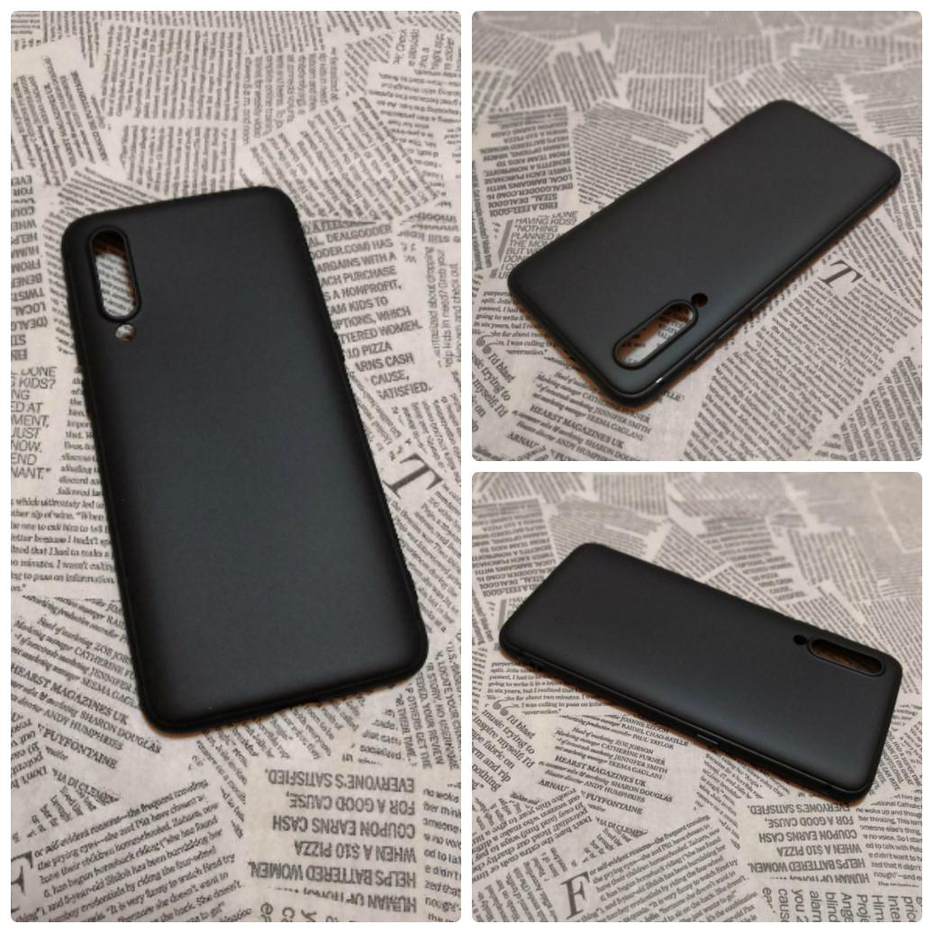 TPU чехол накладка Candy для Xiaomi Mi 9 (Черный)