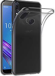 Прозрачный Чехол Asus Zenfone Max Pro M1 ZB602KL ZB601KL (ультратонкий силиконовый) (Асус Зенфон Макс Мах Про