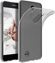 Прозрачный Чехол LG K9 (ультратонкий силиконовый) (Лджи К9)